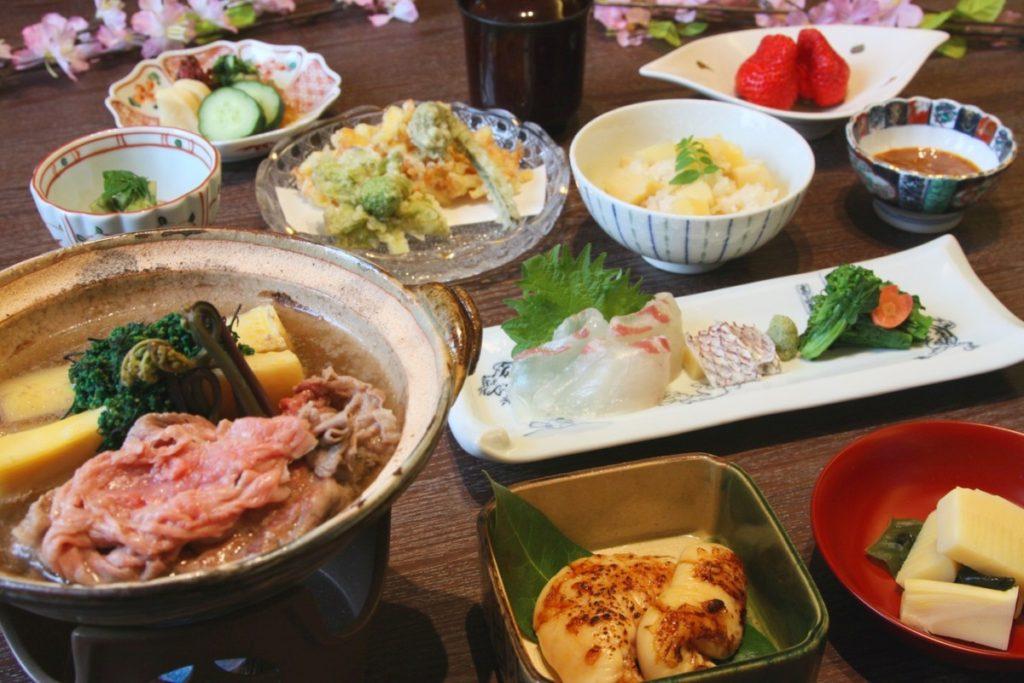 期間限定!地産筍と京都牛の味わい会席プラン♪