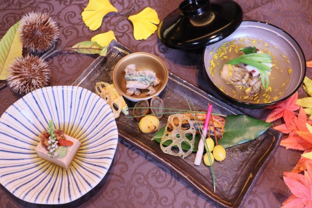 ◆和食処「花水庵」9月 ご夕食◆
